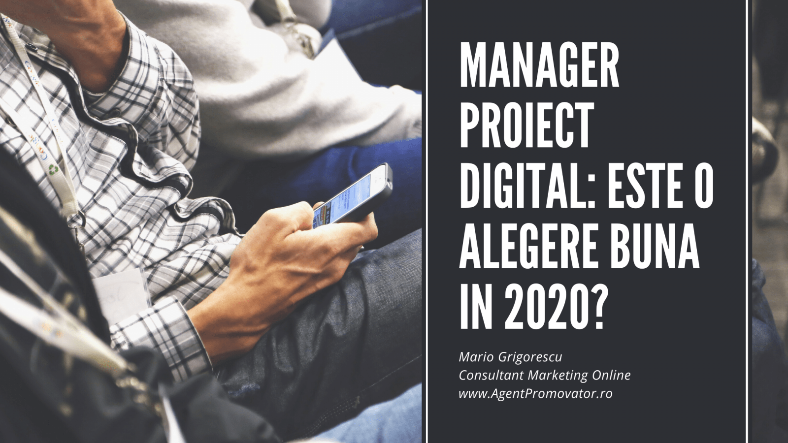 manager proiect digital
