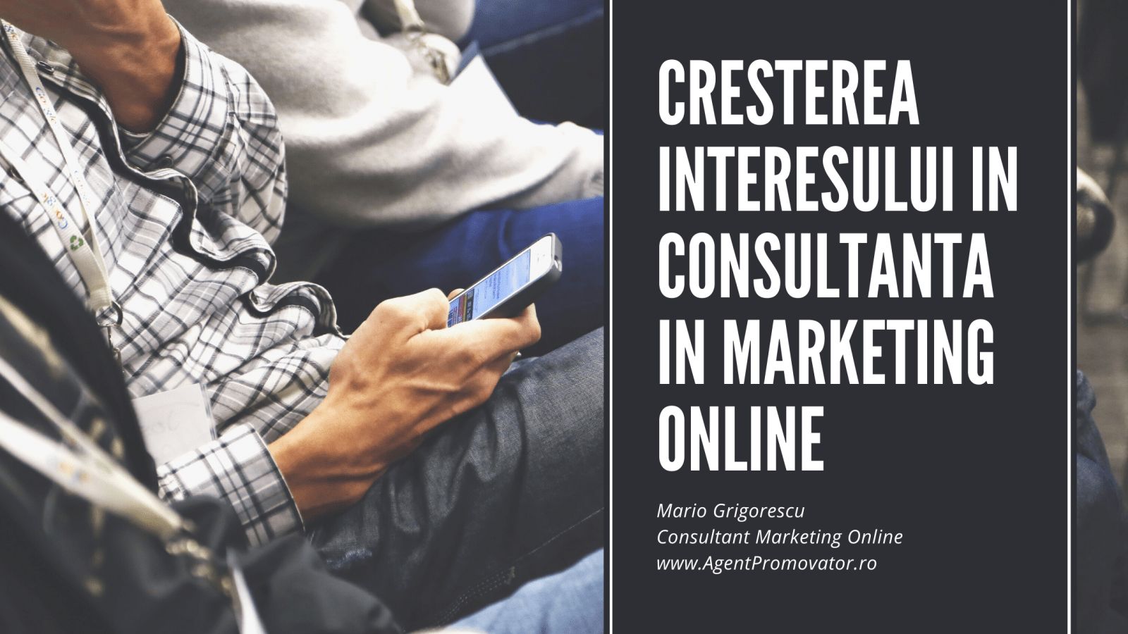 Consultanta in Marketing Online